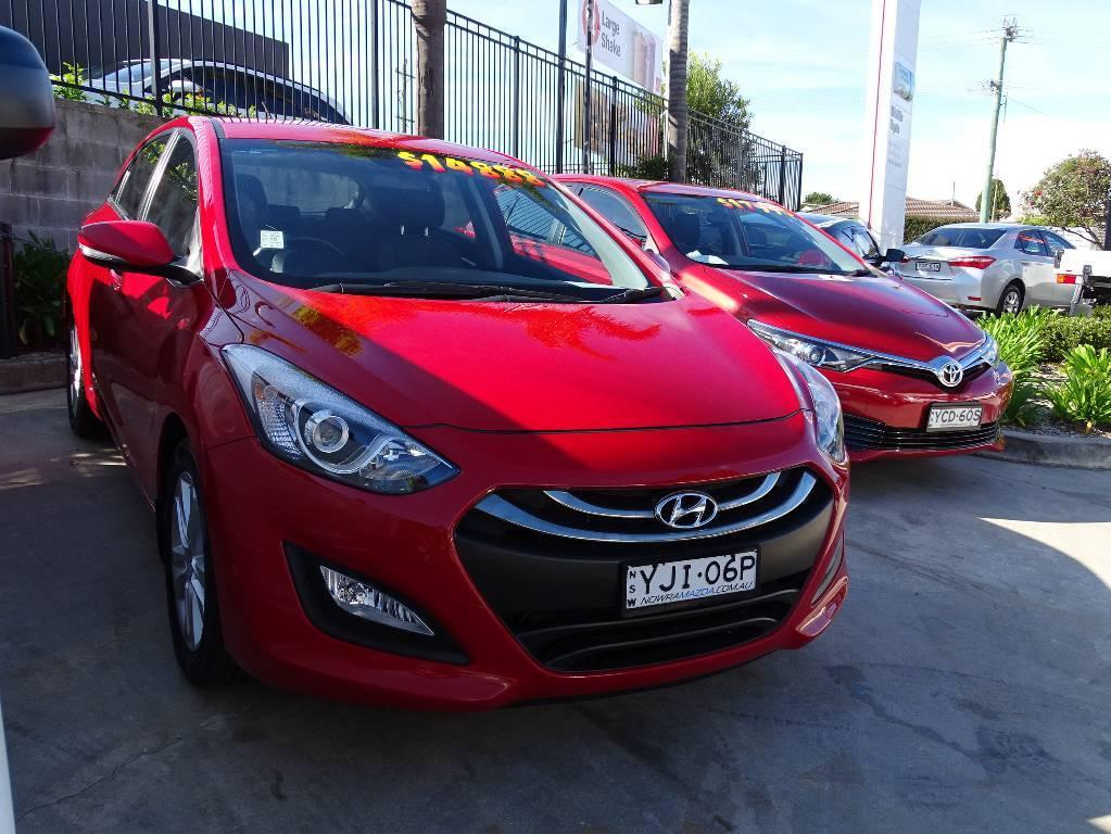 2013 Hyundai I30 GD ELITE